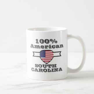 100% American, South Carolina Coffee Mug