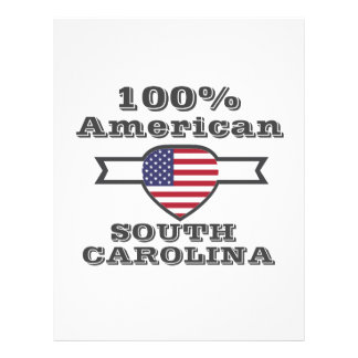 100% American, South Carolina Letterhead
