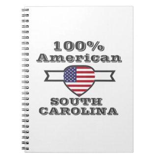 100% American, South Carolina Notebook