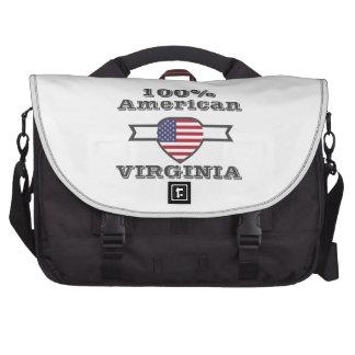100% American, Virginia Laptop Messenger Bag