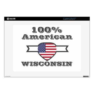 100% American, Wisconsin Laptop Skins