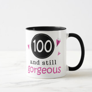 100 And Still Gorgeous Birthday Gift Idea For Her Mug