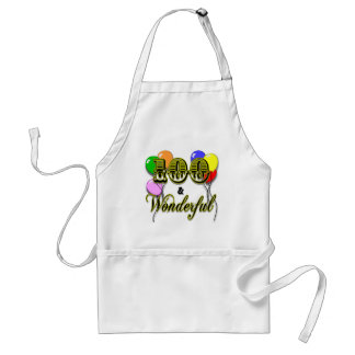 100 and Wonderful Birthday Gifts & Apparel Adult Apron