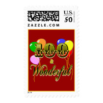 100 and Wonderful Birthday Gifts & Apparel Postage