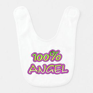 100% angel bib