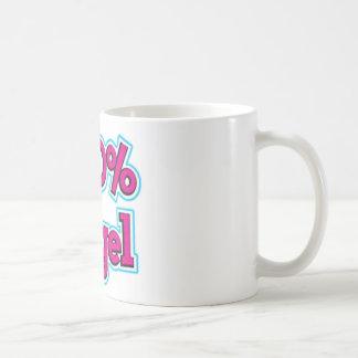 100 % angel coffee mug