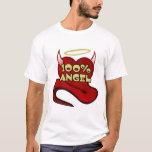 100% Angel Devil Heart T-Shirt