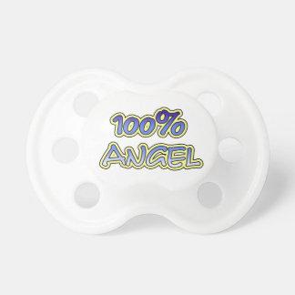 100% angel pacifier