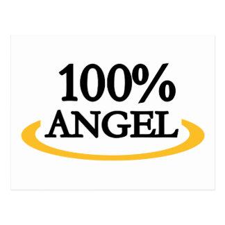 100% Angel Postcard