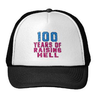 100 años de infierno de aumento gorra