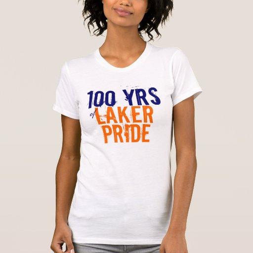 100 años de orgullo de Laker Camiseta