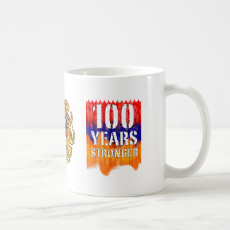 100 años de taza armenia más fuerte
