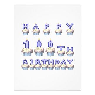 100 años tarjetón