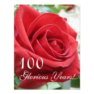 ¡100 años gloriosos - Celebración del cumpleaños Comunicados