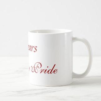 100 años, orgullo del mustango taza de café