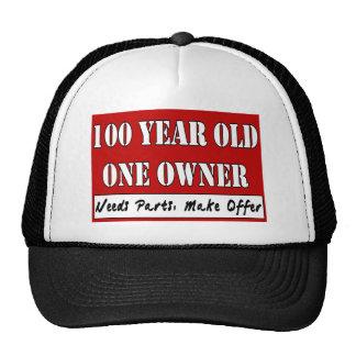 100 años, un dueño - las piezas de las necesidades gorros