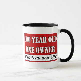 100 años, un dueño - las piezas de las taza