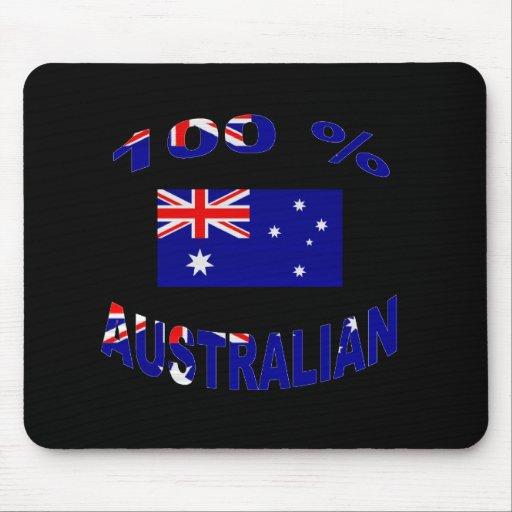100 % Australian Mousepads