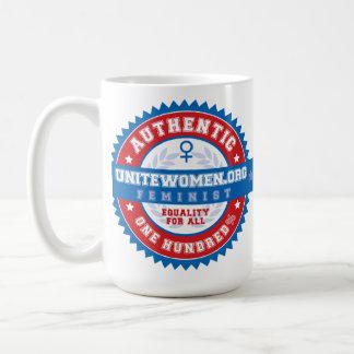 100% Authentic Feminist Classic White Coffee Mug