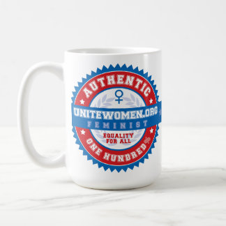 100% Authentic Feminist Coffee Mug