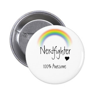 100% Awesome 2 Inch Round Button