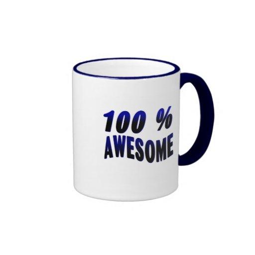 100% Awesome Coffee Mug