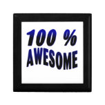 100% Awesome Keepsake Boxes