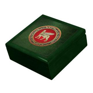 [100] Babylonian Winged Bull Lamassu [3D] Gift Boxes