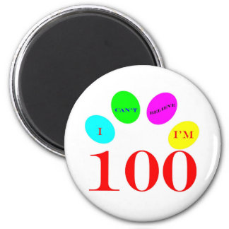 100 Balloons 2 Inch Round Magnet