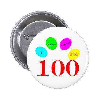 100 Balloons 2 Inch Round Button