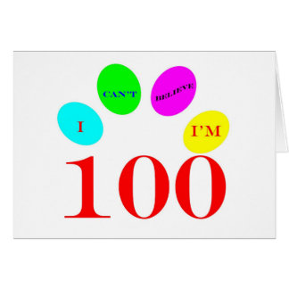 100 Balloons Greeting Cards