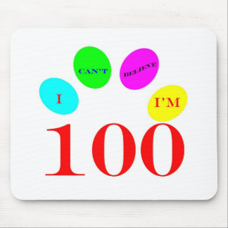 100 Balloons Mouse Pad