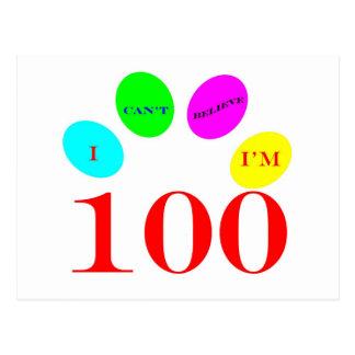 100 Balloons Postcard