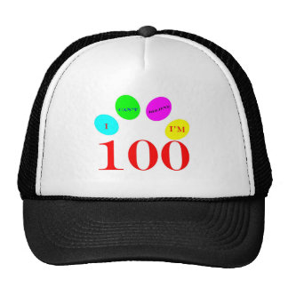 100 Balloons Trucker Hat