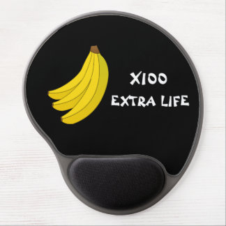 100 Bananas extra life gel mouse pad