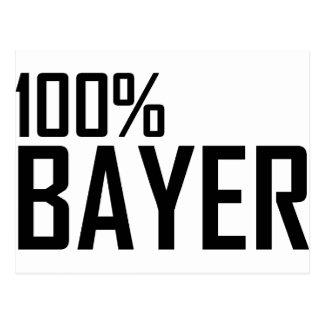 100% Bayer Postcard
