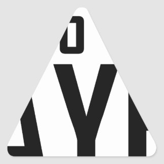 100% Bayer Triangle Sticker