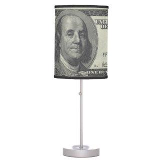 $100 Bill Lámpara De Mesa