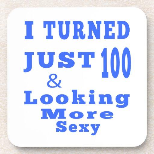 100 birthday designs drink coaster
