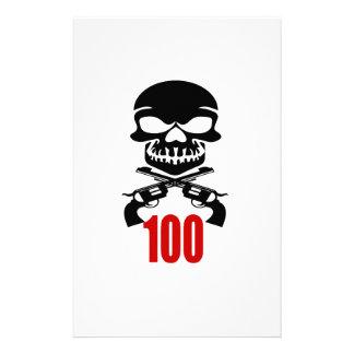 100 Birthday Designs Stationery
