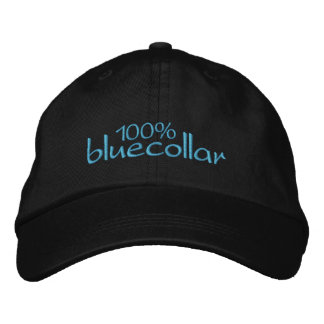 100 bluecollar embroidered hat