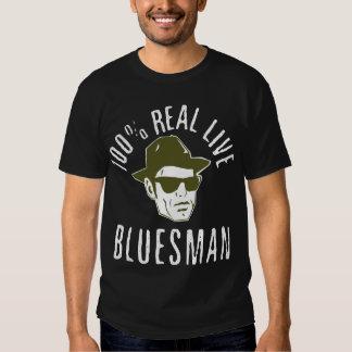100% Bluesman Dark Shirt