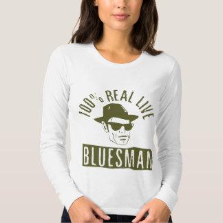 100% Bluesman Ladies Long Sleeve Tee