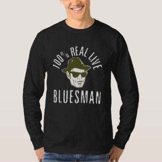 100% Bluesman Long Sleeve T Shirt