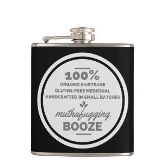 100% Booze Flask