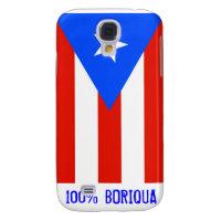 100% Boricua Samsung Galaxy S4 Cover