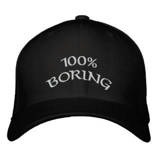 100% boring cap