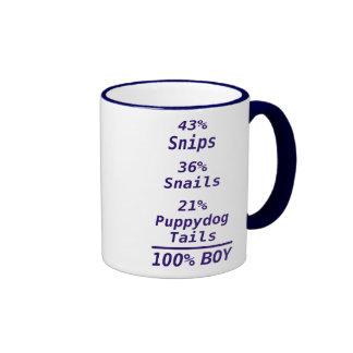 100% Boy and Girl Coffee Mug