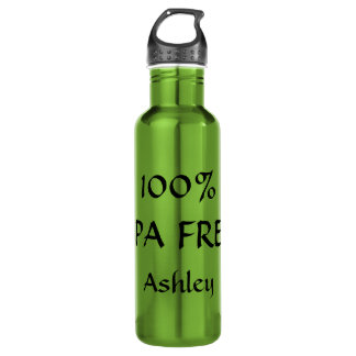 100% BPA FREE customize-able name 24oz Water Bottle