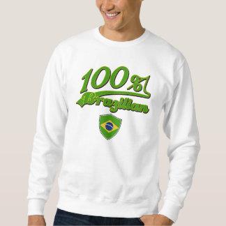 100% Brazilian Pullover Sweatshirt
